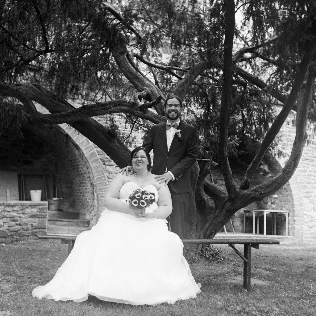 Analoge Hochzeitsfotografie.